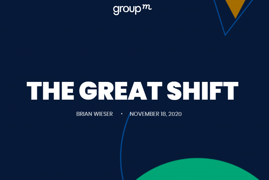 """The Great Shift"" aka ""Wie die Pandemie das Marketing verändert hat"""